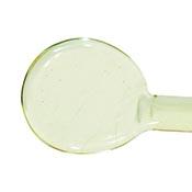 Transparent - Uranium Yellow 19-1/2 in. Moretti rod 104 COE (1/4 lb. minimum order)