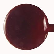 Special - Dark Red Brown 19-1/2 in. Moretti rod 104 COE (1/4 lb. minimum order)