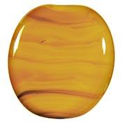 Special - Yellow Ocher 19-1/2 in. Moretti rod 104 COE (1/4 lb. minimum order)
