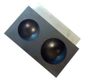 Marble Mold - 2.5 in. & 3 in. Graph.