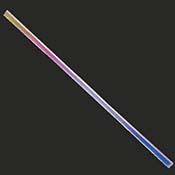 Clear Borosilicate Dichroic Strips Rainbow 1 (16 in. x -1/4 in.)