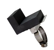 Graphite Torch Mount L Shaped Marver - 3 x 2 in.