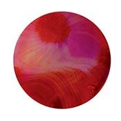 Scarlet Pink 20 in. Rod 33 COE (1/4 lb. minimum order)