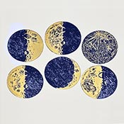 Moon Blue/Gold Decals