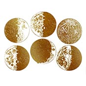 Moon Gold Decals