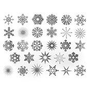 Snowflake Platinum Decals