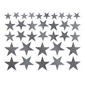 Solid Stars Platinum Decals