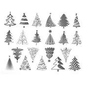 Christmas Platinum Decals