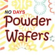 No Days Powder Wafers 12 x 12 in.