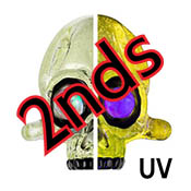 Seconds Nova (UV) 18 in. Rod 33 COE (sold by the pound)