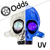 Odd - Luna (UV) 18 in. Rod 33 COE (sold by the pound)