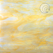 White/ Pale Amber Fusible 96 coe