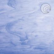 White/ Light Blue Fusible 96 coe