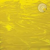 Yellow/ White Wispy Fusible 96 coe