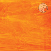 White/ Orange Fusible 96 COE