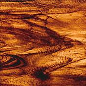Brown/ Gold Streaky Granite Fusible 96 coe