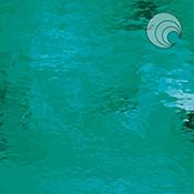 Teal Green Waterglass Transparent Fusible 96 coe
