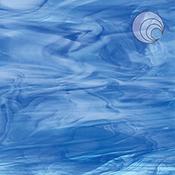 Sky Blue/ Dark Blue/ White Fusible 96 coe