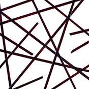Dark Purple Transparent Noodle Fusible 96 COE