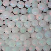 Opals - Sphere - 3mm - Black