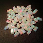 Opals - Tumbled White
