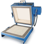 Paragon Dual Clamshell Kiln - 19 x 19 x 6-1/2 in.