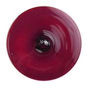 3.75 in. Purple Rondel
