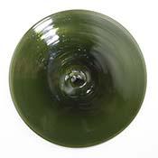 3.75 in. Olive Green Rondel
