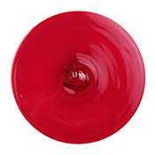 3.75 in. Red Rondel