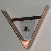 Kit - Antique Copper Finish V-Frame and Electrical Fixture