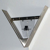 Kit - Pewter Finish V-Frame and Electrical Fixture