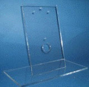 Large (11 x 5-3/4 x 9-1/4 in. H) Acrylic Display Stand for use with V-Frames