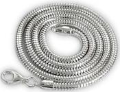 3mm True Italian 16 Sterling Silver Snake Chain