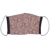 Cloth Masks - Paisley/Black Reversible (3-pack)