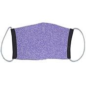 Cloth Masks - Purple Camo/Black Reversible (3-pack)