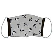 Cloth Masks - Anchors/Black Reversible (3-pack)