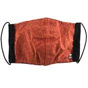 Cloth Masks - Orange Camo/Black Reversible (3-pack)