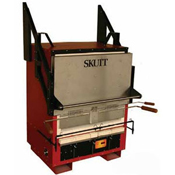 Skutt Scarab XL Annealing Kiln. Opening: 27 in. x 26 in. Depth: 20 in.