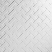11 in. Basket Weave Texture Fusing Tile