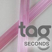 Second - Pink Lollypop 33 COE Rod Bundle