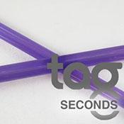 Second - Purple Lollypop 33 COE Rod Bundle