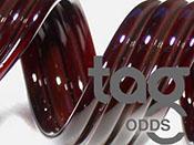 Odd - Dark Red (Black) Elvis 33 COE Rod Bundle