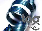 Odd - Heavy Blue Leprechaun 33 COE Rod Bundle