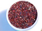 Dark Red Elvis Coarse Frit