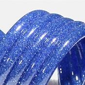 Blue Blizzard Tube 33 COE (sold per pound, 1/4 pound minimum)