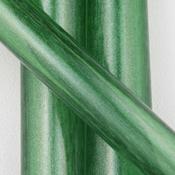Green Stardust Tube 33 COE (sold per pound, 1/4 pound minimum)