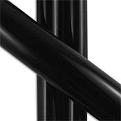 Fade to Black Tube 33 COE (sold per pound, 1/4 pound minimum)