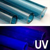 Atomic Stardust UV Tube 33 COE (1/4 lb. minimum order)