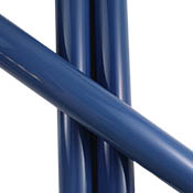Dark Blue Slyme Tube 33 COE  (sold per pound, 1/4 lb. minimum order)