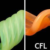 Sunset Slyme (CFL) 33 COE Rod (1/4 lb. minimum order)